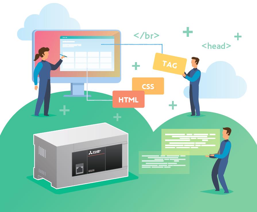 WEB-сервер FX5U для удаленного доступа к ПЛК